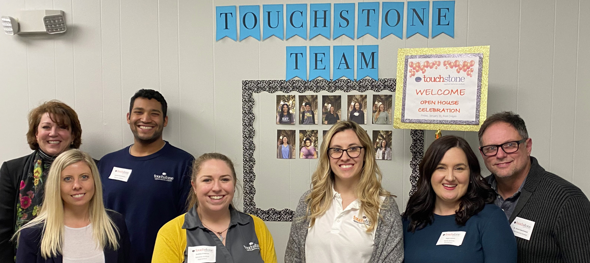 touchstone staff are ABA professionals